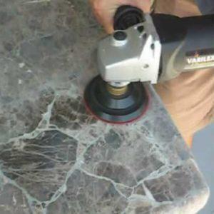 Обработка (полировка) поверхности природного камня (мрамора, гранита)