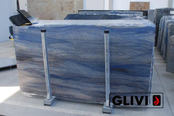 Натуральный камень, природный гранит Azul Macaubas от Гливи, фото 2