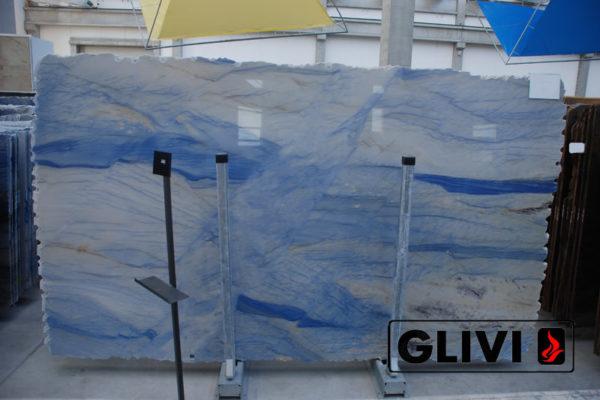 Натуральный камень, природный гранит Azul Macaubas от Гливи, фото 4