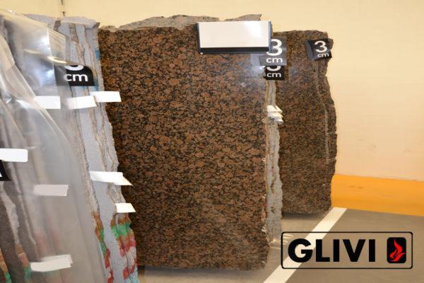 Натуральный камень, природный гранит Baltic Brown от Гливи, фото 1