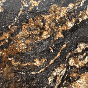 Натуральный камень, природный гранит Black Fusion от Гливи, фото 1