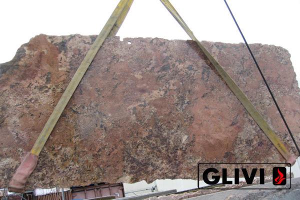 Натуральный камень, природный гранит Bordeaux от Гливи, фото 4