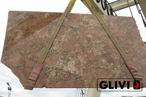 Натуральный камень, природный гранит Bordeaux от Гливи, фото 3