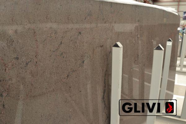 Натуральный камень, природный гранит Brown Ice от Гливи, фото 2
