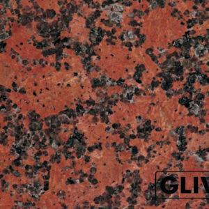 Натуральный камень, природный гранит Carmen Red от Гливи, фото 1