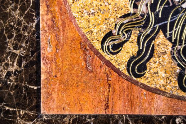 Икона Спас Нерукотворный № 1-12-9 из камня, Гливи, фото 8