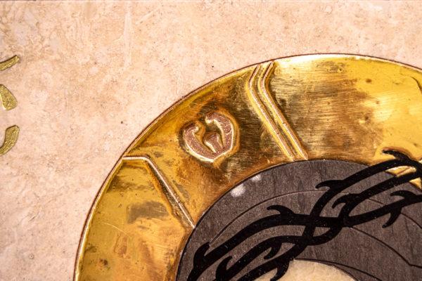 Икона Царь Иудейский № 1-12-1 из камня, Гливи, фото 6