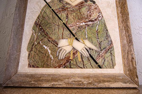 Икона Царь Иудейский № 1-12-1 из камня, Гливи, фото 9