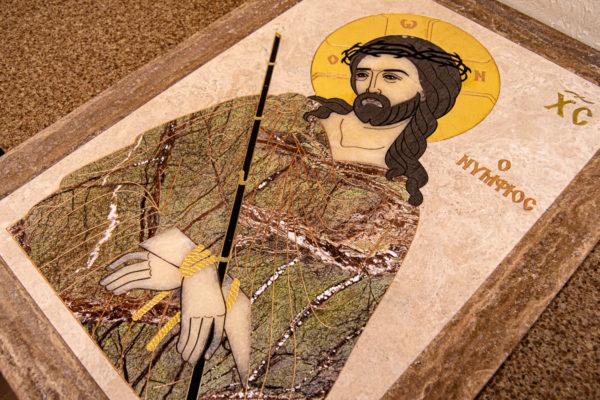 Икона Царь Иудейский № 1-12-1 из камня, Гливи, фото 11