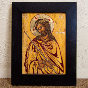 Икона Царь Иудейский № 5-5 из камня, Гливи, фото 1