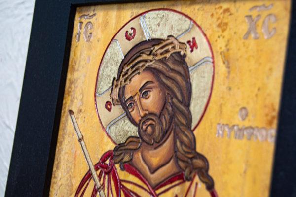 Икона Царь Иудейский № 5-5 из камня, Гливи, фото 5
