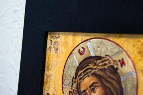 Икона Царь Иудейский № 5-5 из камня, Гливи, фото 6