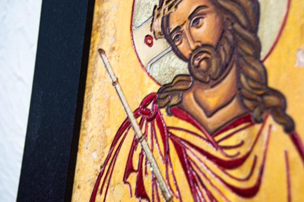 Икона Царь Иудейский № 5-5 из камня, Гливи, фото 8