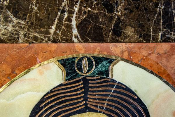 Икона Спас Нерукотворный № 1-12-6 из камня, Гливи, фото 6