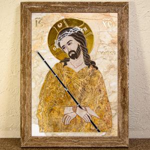 Икона Царь Иудейский № 1-12-2 из камня, Гливи, фото 1