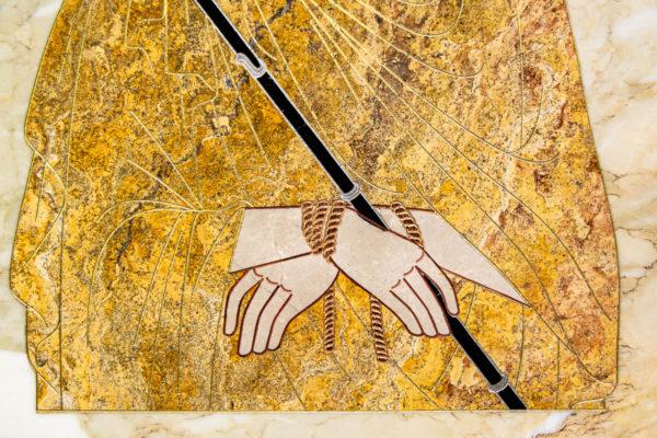 Икона Царь Иудейский № 1-12-2 из камня, Гливи, фото 2