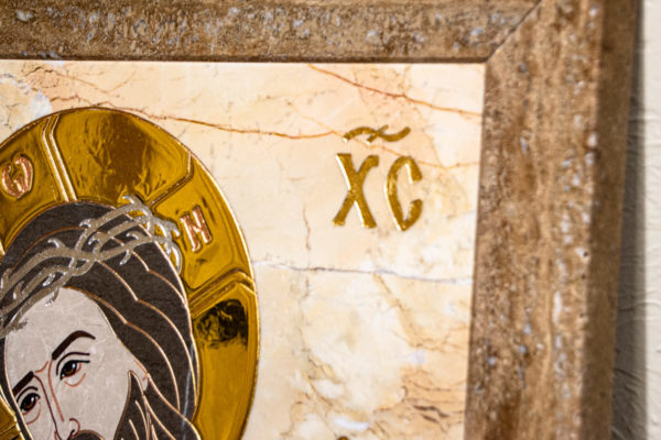 Икона Царь Иудейский № 1-12-2 из камня, Гливи, фото 5