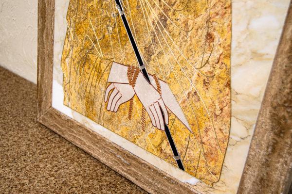 Икона Царь Иудейский № 1-12-2 из камня, Гливи, фото 6