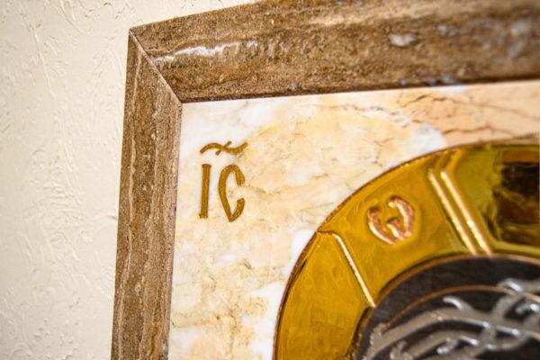Икона Царь Иудейский № 1-12-2 из камня, Гливи, фото 7