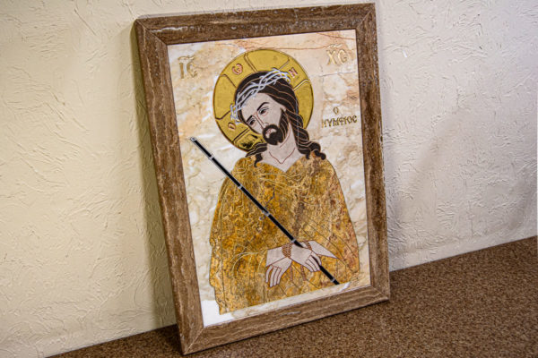 Икона Царь Иудейский № 1-12-2 из камня, Гливи, фото 8