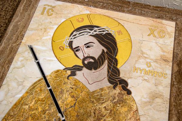 Икона Царь Иудейский № 1-12-2 из камня, Гливи, фото 11