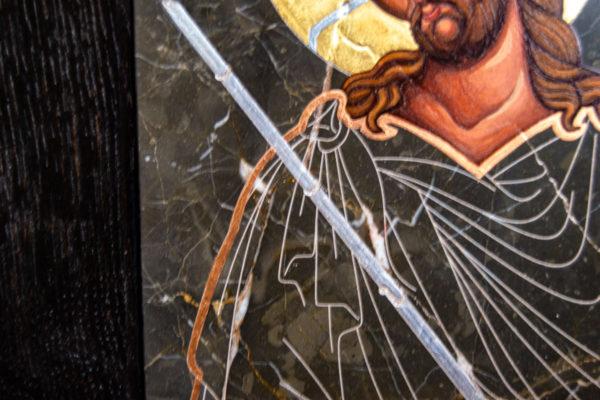Икона Царь Иудейский № 5-2 из камня, Гливи, фото 5