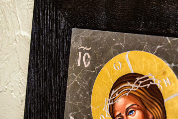 Икона Царь Иудейский № 5-2 из камня, Гливи, фото 7