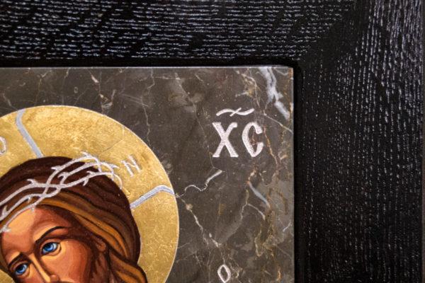 Икона Царь Иудейский № 5-3 из камня, Гливи, фото 2