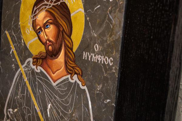 Икона Царь Иудейский № 5-3 из камня, Гливи, фото 5