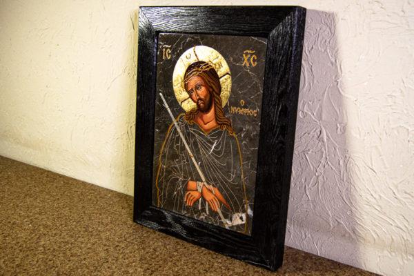 Икона Царь Иудейский № 5-4 из камня, Гливи, фото 7