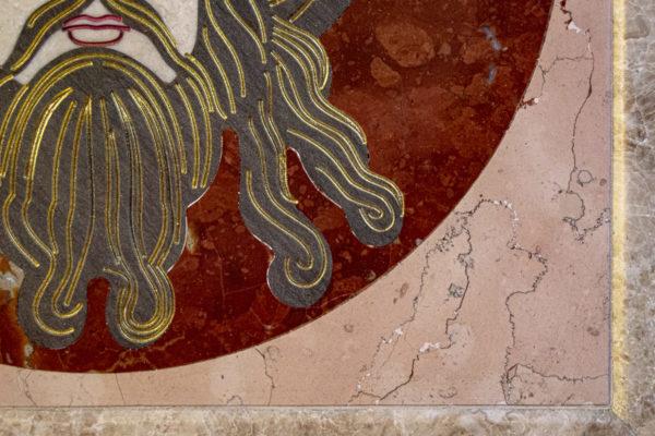 Икона Спас Нерукотворный № 1-12-10 из камня, Гливи, фото 8