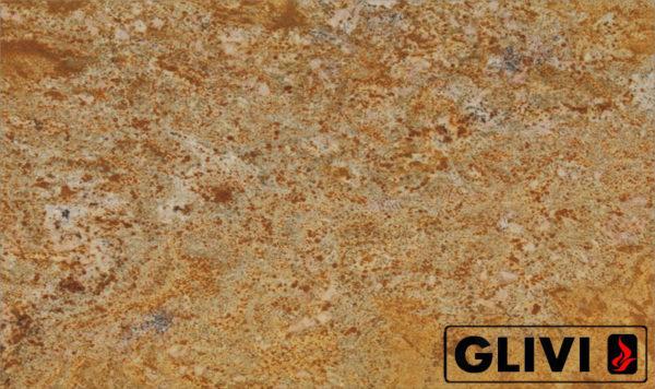 Натуральный камень, природный гранит Imperial Gold от Гливи, фото 1