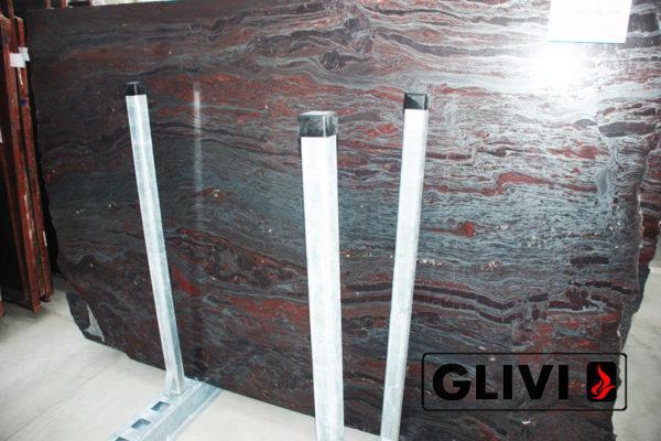 Натуральный камень, природный гранит Iron Red от Гливи, фото 3