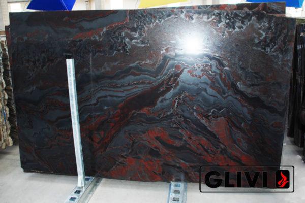 Натуральный камень, природный гранит Iron Red от Гливи, фото 4