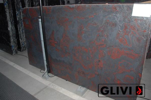 Натуральный камень, природный гранит Iron Red от Гливи, фото 1