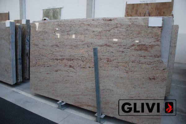 Натуральный камень, природный гранит Ivory Brown от Гливи, фото 2