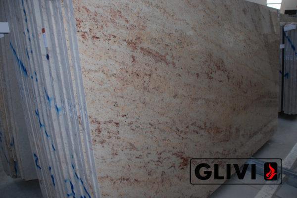 Натуральный камень, природный гранит Ivory Brown от Гливи, фото 4