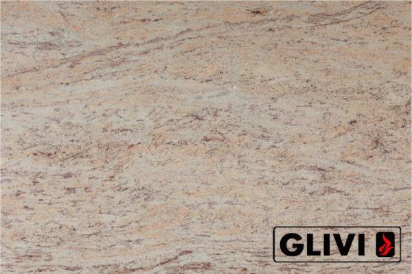 Натуральный камень, природный гранит Ivory Brown от Гливи, фото 1
