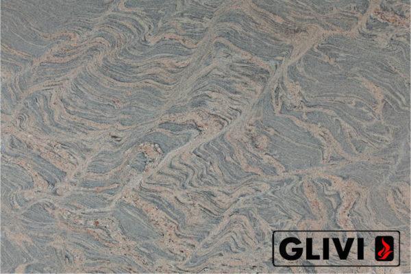 Натуральный камень, природный гранит Juparana Colombo от Гливи, фото 1