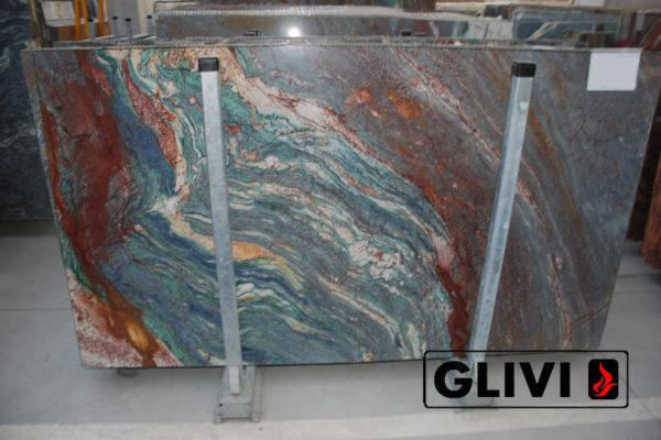 Натуральный камень, природный гранит Luise Blue от Гливи, фото 2