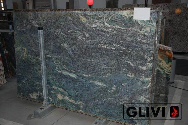 Натуральный камень, природный гранит Luise Blue от Гливи, фото 3