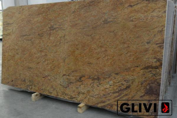 Натуральный камень, природный гранит Madura Gold от Гливи, фото 3