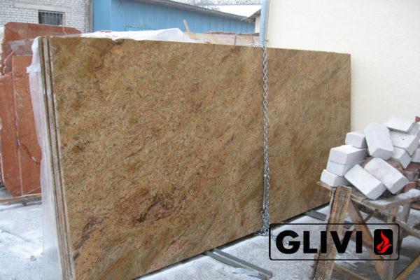 Натуральный камень, природный гранит Madura Gold от Гливи, фото 4