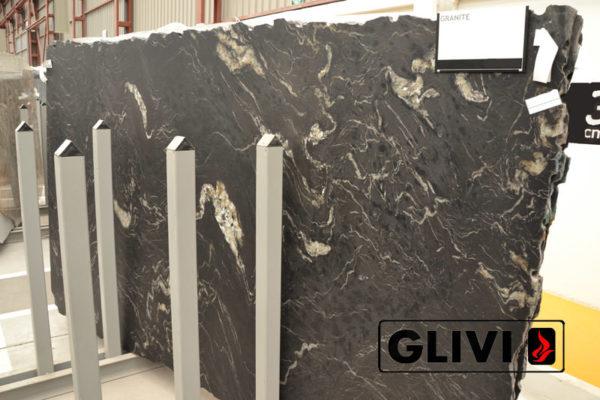 Натуральный камень, природный гранит Titanium от Гливи, фото 1