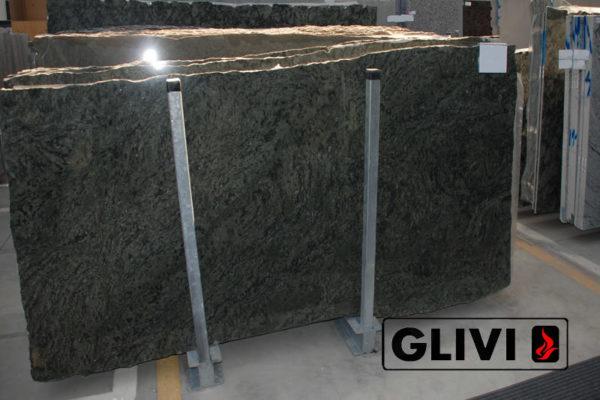 Натуральный камень, природный гранит Verde Savana от Гливи, фото 2