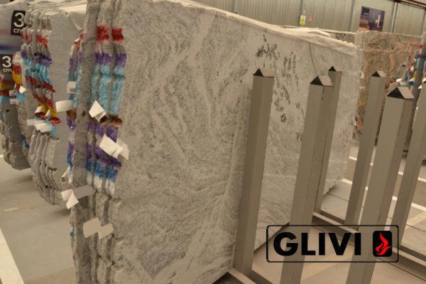 Натуральный камень, природный гранит Viscont White от Гливи, фото 6