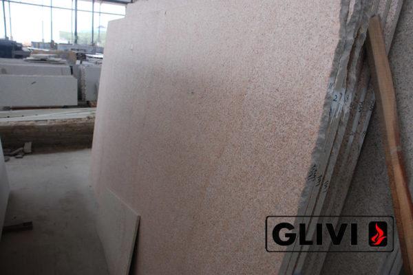 Натуральный камень, природный гранит Yellow Pink от Гливи, фото 3