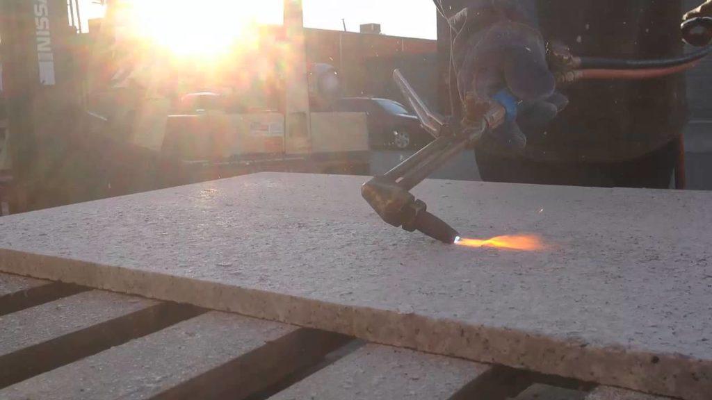 Термическая обработка поверхности камня от Гливи. Услуга. Фото 1