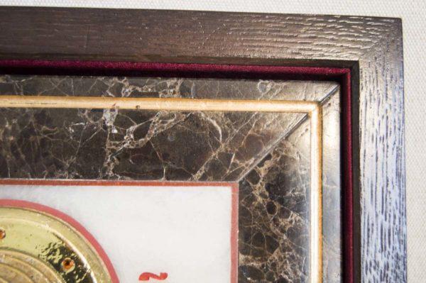 Икона Владимирской Божией Матери № 2 из мрамора, камня, от Гливи, фото 8