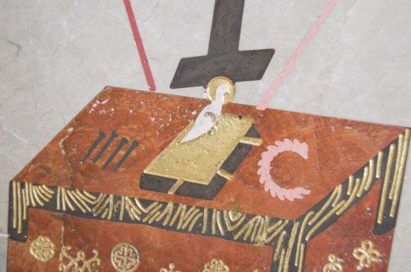 Икона Владимирской Божией Матери № 2 из мрамора, камня, от Гливи, фото 12